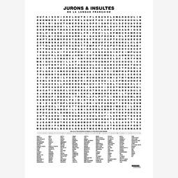 Compilation des jurons et insultes