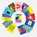Etui 12 cartes postales - Vive la France